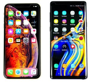 iPhone XS Max vs Note 9