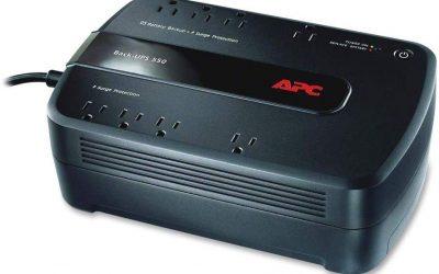 APC UPS 550VA Battery Backup & Surge Protector