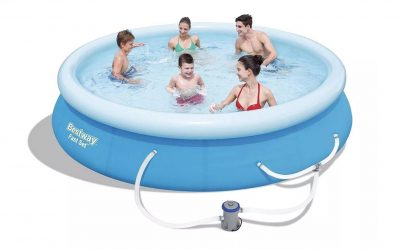 Bestway 12ft x 30in Round Inflatable Pool with Pump