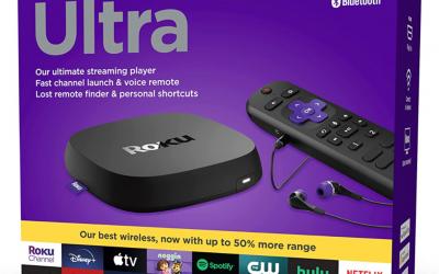 Roku Ultra 4K Streaming Device with Dolby Atmos